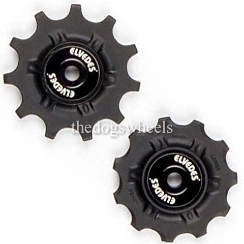 Jockey Pulley Wheels 11T STAINLESS Bearings Shimano / SRAM compatible 11 Teeth