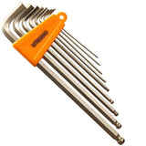 Fat Spanner 9 Piece Hex Allen Key Tool Wrench Set Mountain Bike MTB Bicycle