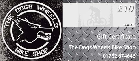 The Dogs Wheels Bicycle Shop Gift Voucher