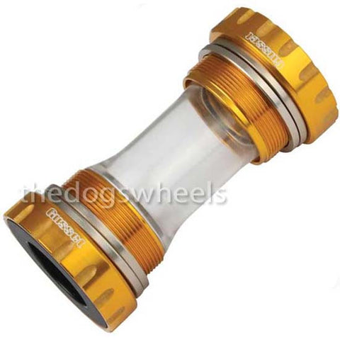 Gusset EXT24 External Hollowtech Sealed Bottom Bracket MTB Bicycle Bike Gold