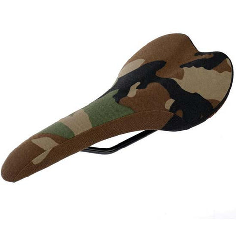 Gusset R-Series Mountain Bike MTB XC / Road Bicycle Saddle Camo Camouflage