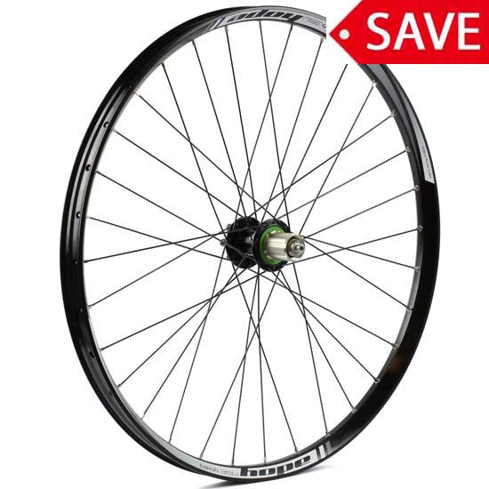 "Hope 27.5"" 650B Rear Wheel 35W Pro 4 Hub 12 x 142mm Black - Shimano"