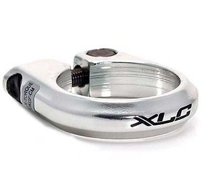 XLC Bolt Bolted Seatpost Clamp MTB Bicycle Bike Silver