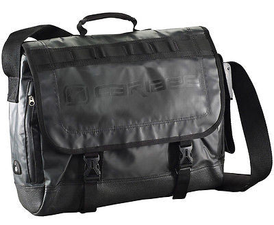 Caribee ignite satchel messenger shoulder college bag black