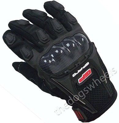 Premium off Road Armoured Downhill DH MTB Bicycle Bike Gloves Motocross Motox XL