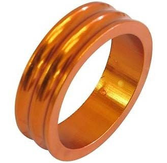 One23 Alloy Headset Spacer Spacers Orange 28.6mm MTB Bicycle Bike 10mm 5mm