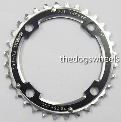 One23 Chain Ring 104mm BCD 34T CNC 7075 Alloy MTB Bicycle Bike Chainring 34Teeth