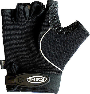 iceni Cycle Mitts / Gloves MTB Bicycle Bike Cycling Anti - Slip Black