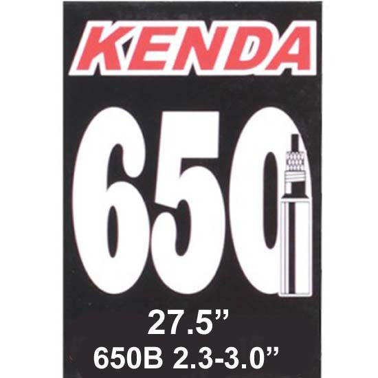"Kenda 27.5"" Inner Tube Tubes 2.3"" - 3.0"" MTB Bicycle Bike 650B Plus 27.5""+"