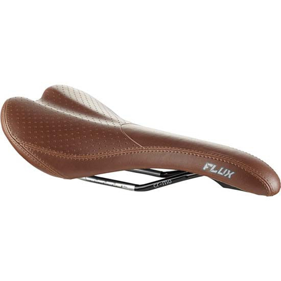 Madison Flux MTB Bike Bicycle Saddle Multi Density Cromoly Rails Brown