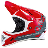 Oneal Backflip RL Full Face DH Downhill MTB Bike Helmet Fullface Fidlock Red White Grey