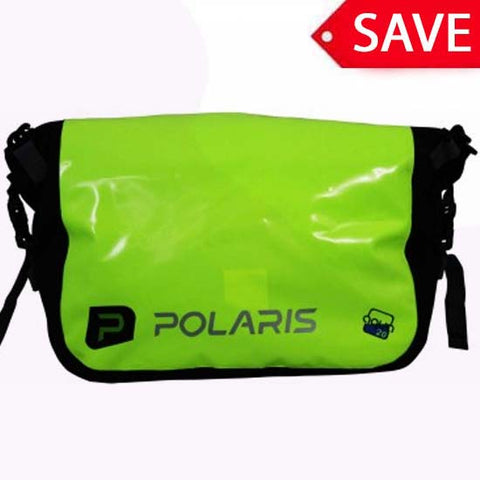 Polaris Aquanought Waterproof Fluorescent Yellow Courier Messenger Bike Bag