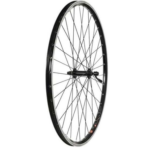 Trubuild 700c Hybrid / Trekking Front Bicycle Bike Wheel QR Quick Release Rim Brake Black