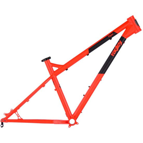 "Ragley Piglet 27.5"" Steel Hardtail Mountain Bike MTB Frame 19"" Orange Black"