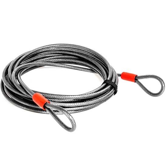 MTB Bicycle Bike Lock Long Flexible Steel Extension Cable * 220cm * x 10mm Cycle