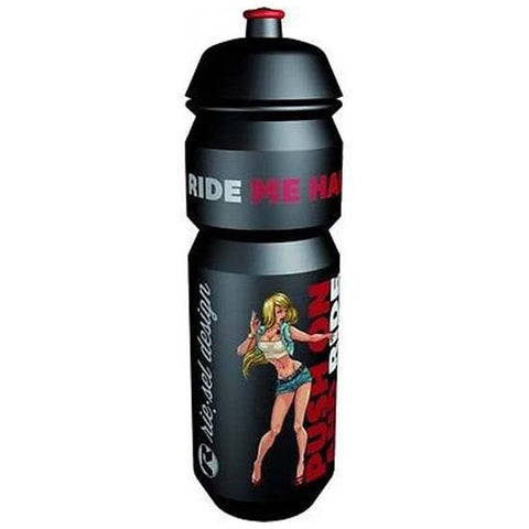 Riesel Flasche MTB Bicyle Bike Girl Water Bottle 750ml Black