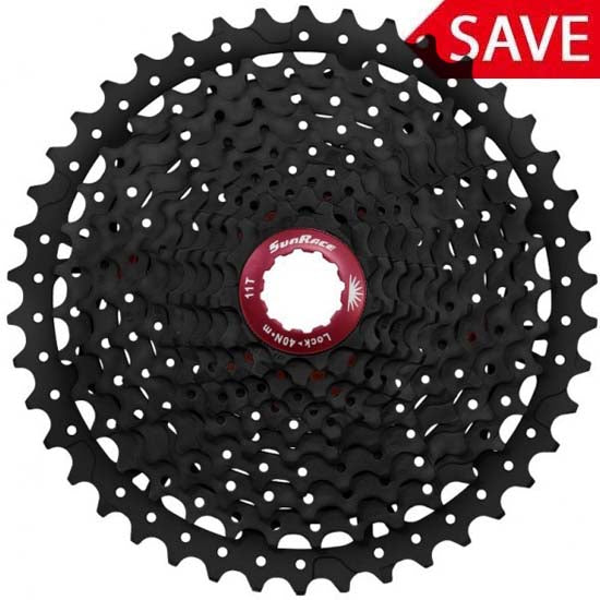 Cassettes, Freewheels & Cogs Sunrace Mx3 Mountain Bike Bicycle Shimano 10 Speed Cassette 11-40t Or 42t