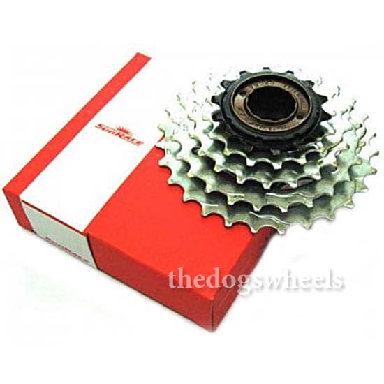 Sunrace 5 Speed Freewheel Sprockets 14/24T Bicycle Cycle Bike MTB 5sp Free Wheel