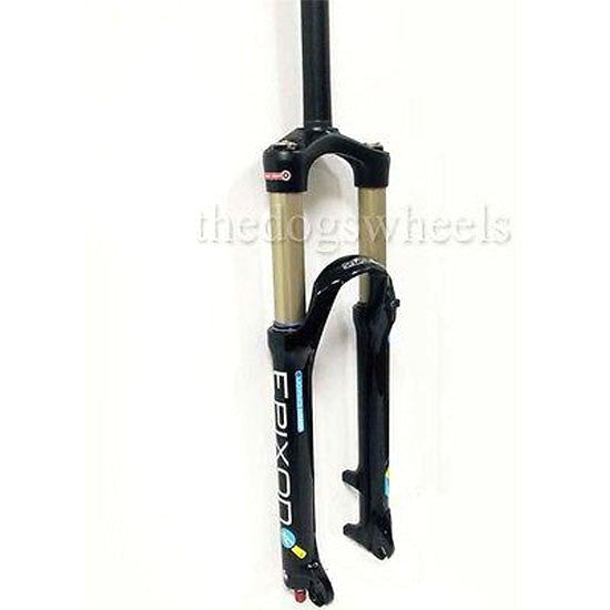 "Suntour Epicon / Epixon 140mm Air MTB Bike Suspension Forks 27.5"" Lock Out  LO Blk 15mm"