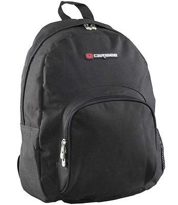 Caribee Lotus Backpack Rucksack Day Pack Black 26L School Office Student Bag