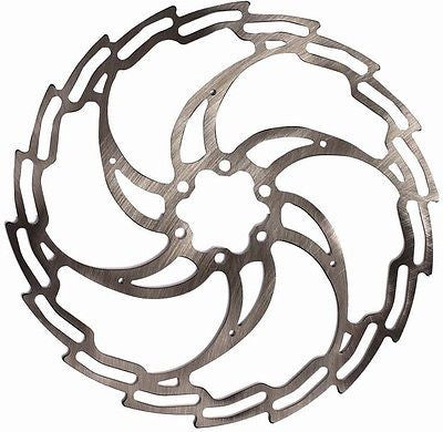 One23 Superlight Hydraulic Disc Brake Rotor 203mm MTB Bicycle Bike 6 Bolt