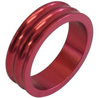 One23 Alloy Headset Spacer Spacers Red 28.6mm MTB Bicycle Bike 10mm 5mm