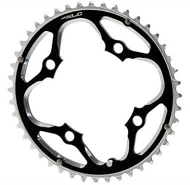 XLC Alloy 44T Chainring MTB Bicycle Bike 4 Arm 104mm BCD light 7075 Aluminium