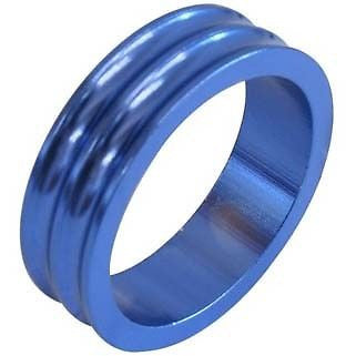 One23 Alloy Headset Spacer Spacers Blue 28.6mm MTB Bicycle Bike 10mm 5mm