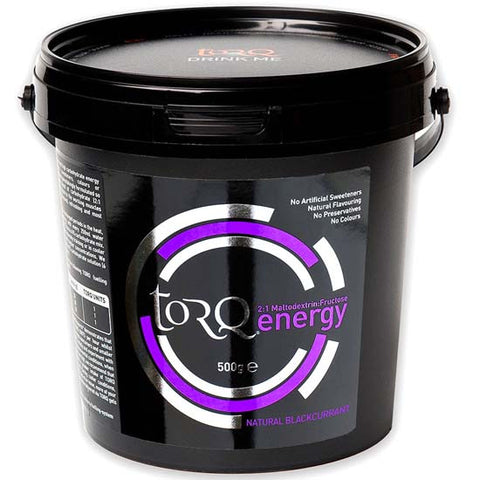Torq Energy Drink Carbohydrate electrolyte Sports Nutrition Blackcurrant 500g