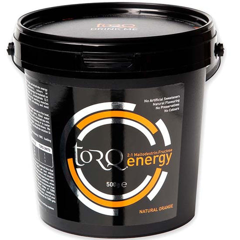 Torq Energy Drink Carbohydrate electrolyte Sports Nutrition Orange 500g