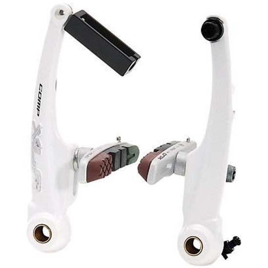 XLC Comp V Brake Brakes MTB Cycle Bike Bicycle White V-Brake V-Brakes