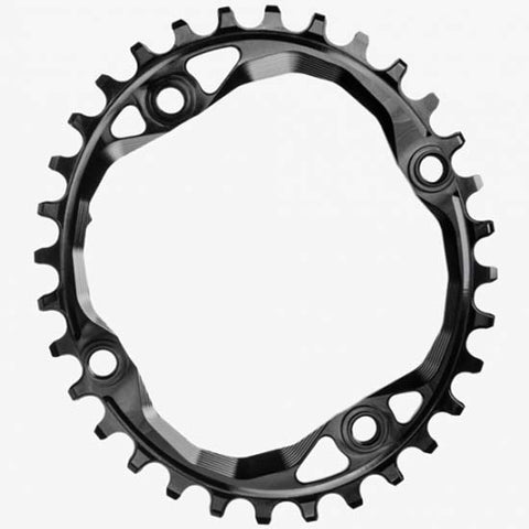 Absolute Black Oval Mountain Bike MTB 104bcd Chainring 32T Black