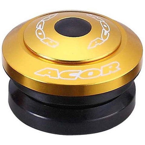 "Acor Fully Integrated Drop-in Headset 1.1/8"" MTB Bicycle Bike Alloy Gold 41.8mm"