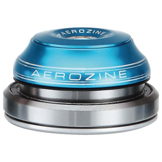 "Aerozine Fully Integrated Headset Tapered 1.1/8"" - 1.5"" Blue 42mm 52mm MTB"