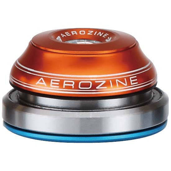"Aerozine Fully Integrated Headset Tapered 1.1/8"" - 1.5"" Orange 42mm 52mm MTB"