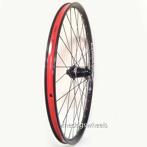 "Alex Chosen 27.5"" Front 20mm DH Downhill / Trail Enduro MTB Bike Tubeless Ready Wheel Black 650B"