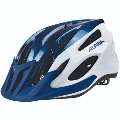 Alpina MTB17 Mountain Bike MTB Helmet Blue / White 58-61cms
