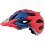 Alpina Carapax Enduro Mountain Bike MTB Helmet Red & Blue 57-62cms