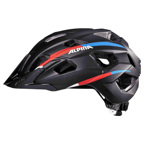 Alpina Yedon Tour / City Bike Helmet Black 52-57cms