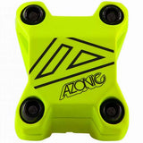 Azonic Baretta Evo Moutain Bike MTB Bicycle Handlebar Short Stem 31.8mm x 40mm Neon Yellow
