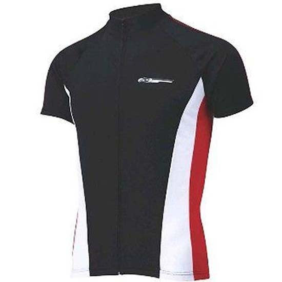 BBB Comfortfit Short Sleeve Jersey Black / Red Road Racing Cycle Cycling Bike