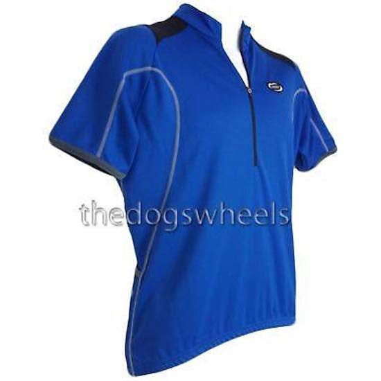 BBB Road Racing Bike Cycle Cycling Short Sleeve Jersey Shirt Mens Large Blue