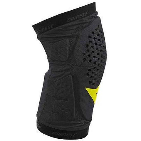 Dainese Trail Skins Knee Pads MTB Bicycle Bike Body Armour Black Yellow