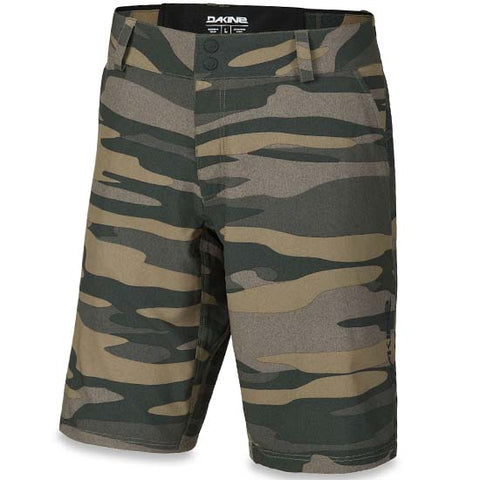 Dakine Pace Baggy Mountain Bike MTB Bike Trail Shorts - Field Camo