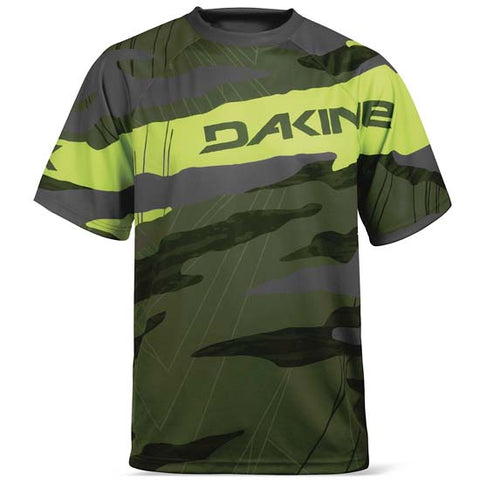 Dakine Descent Mountain Bike MTB Jersey Short Sleeve Top Cypress