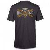 Dakine Overbite Short Sleeve Tech T Mens T-Shirt Heather Black