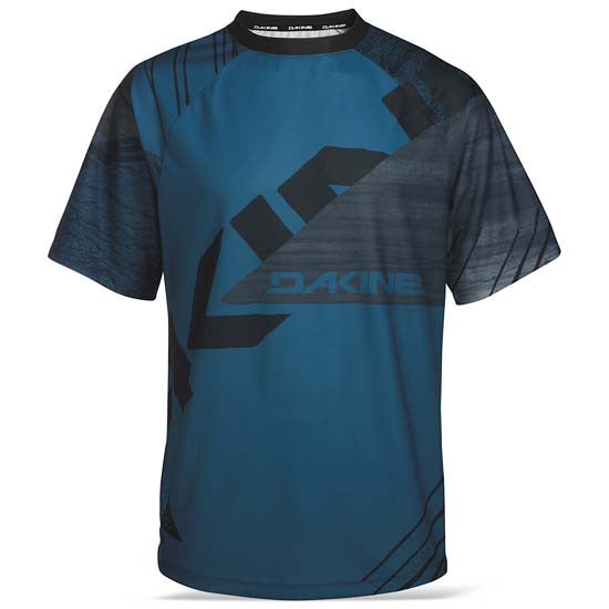 Dakine Thrillium Short Sleeve Mountain Bike MTB  T-Shirt Cycle Jersey Top Mens Moroccan Blue
