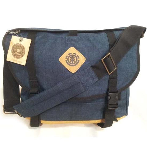 Element Messenger Shoulder Bag Blue
