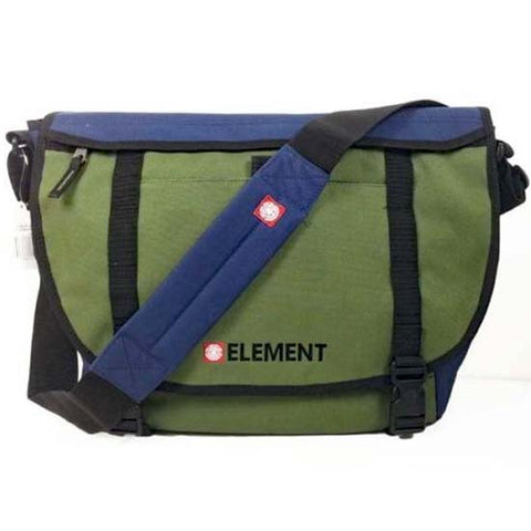 "Element MOH V2 15"" Laptop Computer Messenger Dispatch Shoulder Bag College Green"