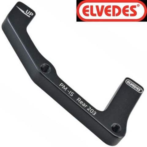 Elvedes Mountain Bike MTB Disc Brake Adapter Adaptor PM - IS Rear 203mm